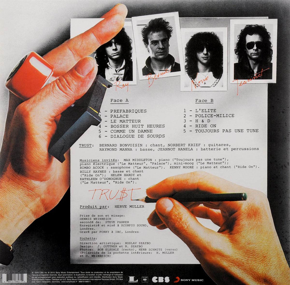 Trust.  Trust (LP) Warner Music,Sony Music Entertainment, Inc.
