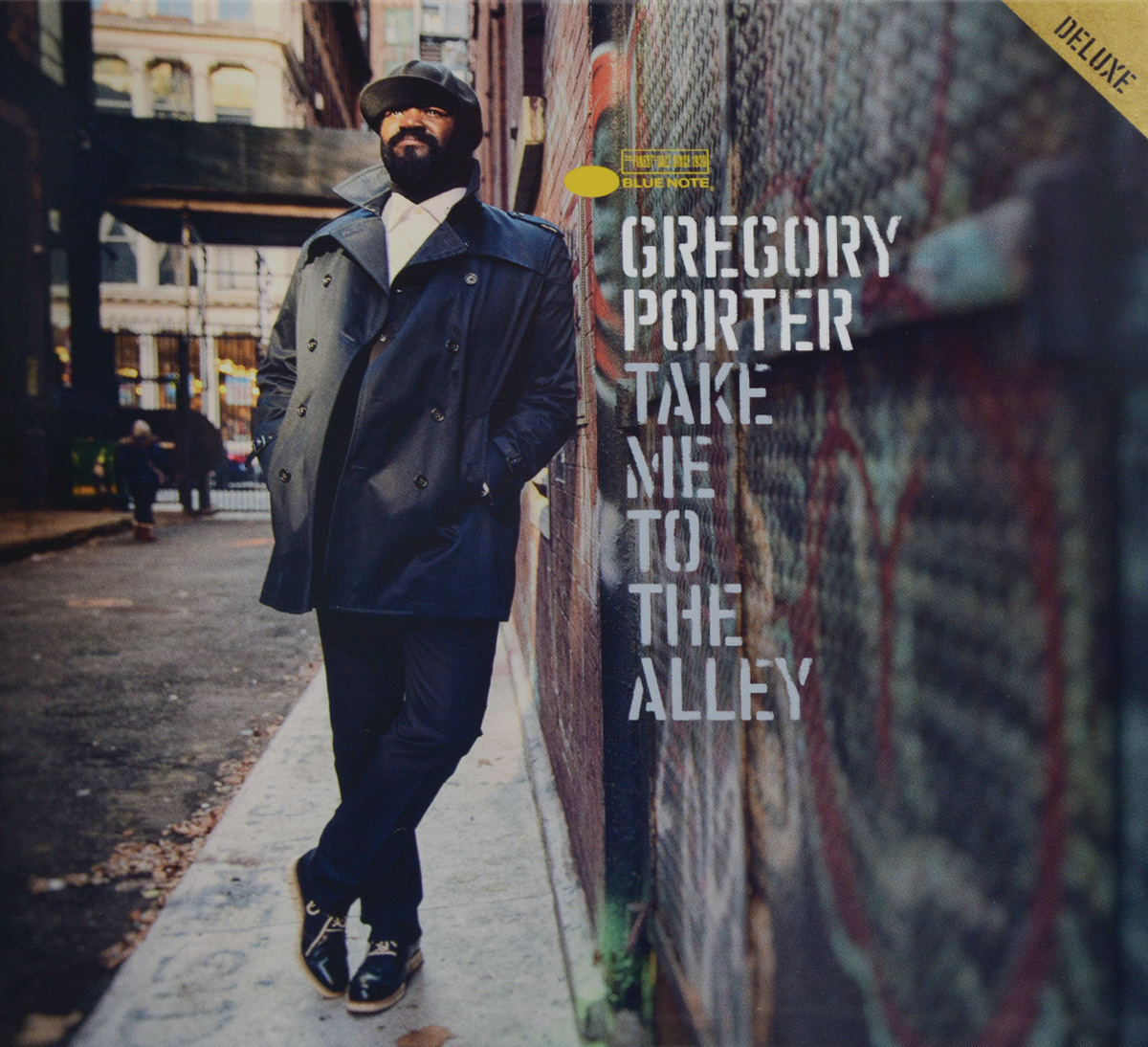 Грегори Портер Gregory Porter. Take Me To The Alley. Deluxe Edition (CD + DVD) europe europe war of kings deluxe edition cd dvd