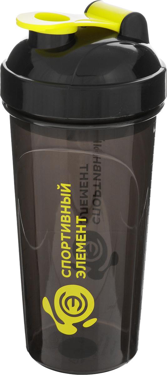 Шейкер Спортивный элемент Морион, 700 мл00007Шейкер Спортивный элемент Морион, изготовленный из высококачественного полипропилена (пластика), оснащен крышкой, которая плотно и герметично закрывается, сохраняя изначальную температуру напитка. Носик шейкера закрывается защелкой, благодаря чему содержимое не прольется и дольше останется свежим. Изделие прекрасно подойдет для использования в жаркую погоду: вода долго сохраняет первоначальные свойства и вкусовые качества. При необходимости в шейкер можно заливать витаминизированные напитки, соки, протеиновые или углеводные коктейли. Внутри шейкера находится пластиковая сетка, предназначенная для лучшего взбалтывания содержимого. На внешней стенке изделия нанесена мерная шкала. Такой шейкер можно без опаски положить в рюкзак, закрепить на поясе или велосипедной раме. Он пригодится как на тренировках, так и в походах или просто на прогулке.Диаметр шейкера (по верхнему краю): 9 см. Высота шейкера (без учета крышки): 18,7 см. Диаметр сетки: 5,5 см.