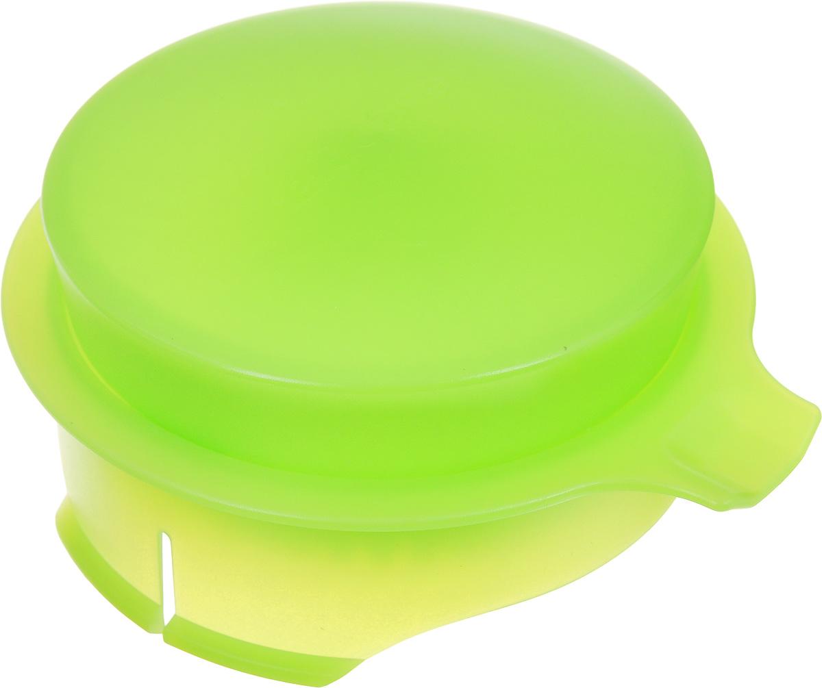 Соковыжималка для цитрусовых Tescoma, для кувшина Teo 2,5 л, цвет: салатовый646611Соковыжималка Tescoma, выполненная из высококачественного пластика, станет полезным аксессуаром на любой кухне. Она подходит для кувшина Teo объемом 2,5 л. Соковыжималка состоит из насадки и крышки и идеально подойдет для мелких и крупных цитрусовых фруктов. Достаточно разрезать фрукты пополам, зафиксировать на насадке и покрутить. Сок поступает в кувшин. Простая и удобная в использовании соковыжималка Tescoma займет достойное место среди кухонного инвентаря.Можно мыть в посудомоечной машине.Диаметр соковыжималки по верхнему краю: 11 см. Высота соковыжималки с учетом крышки: 4,5 см.