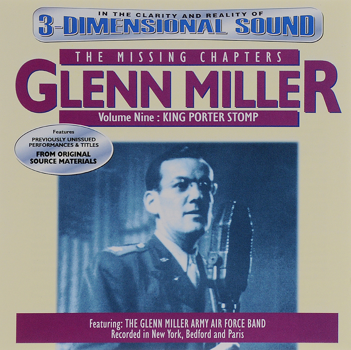Гленн Миллер Glenn Miller. The Missing Chapters. Volume 9. King Porter Stomp альберт эммонс рут браун the clovers гленн миллер энди разаф джимми янси клео браун классика для детей джаз mp3