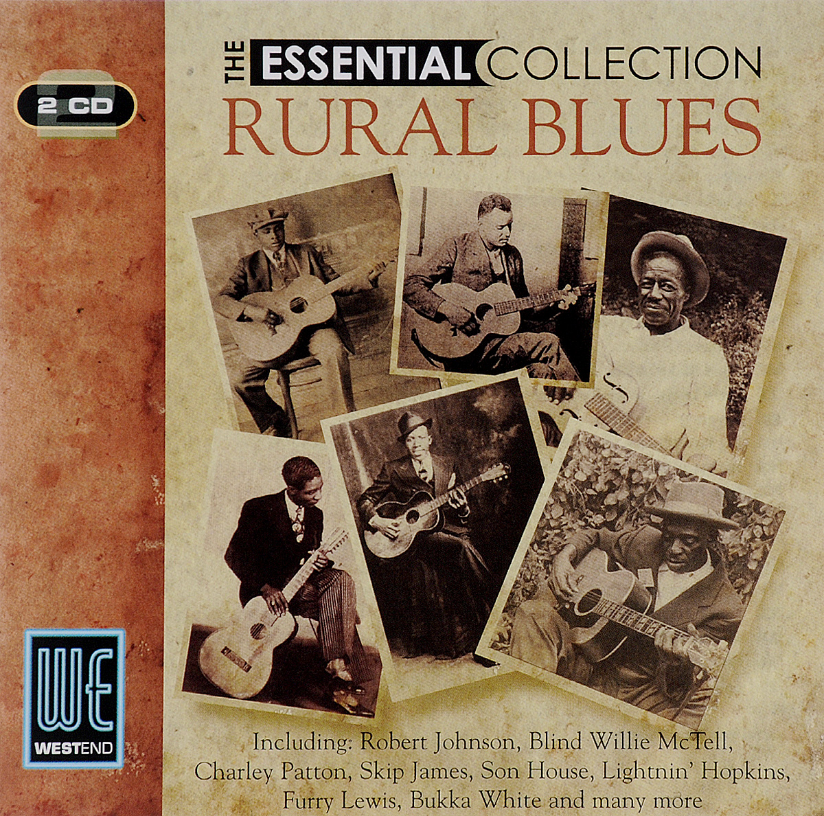 The Essential Collection. Rural Blues (2 CD)