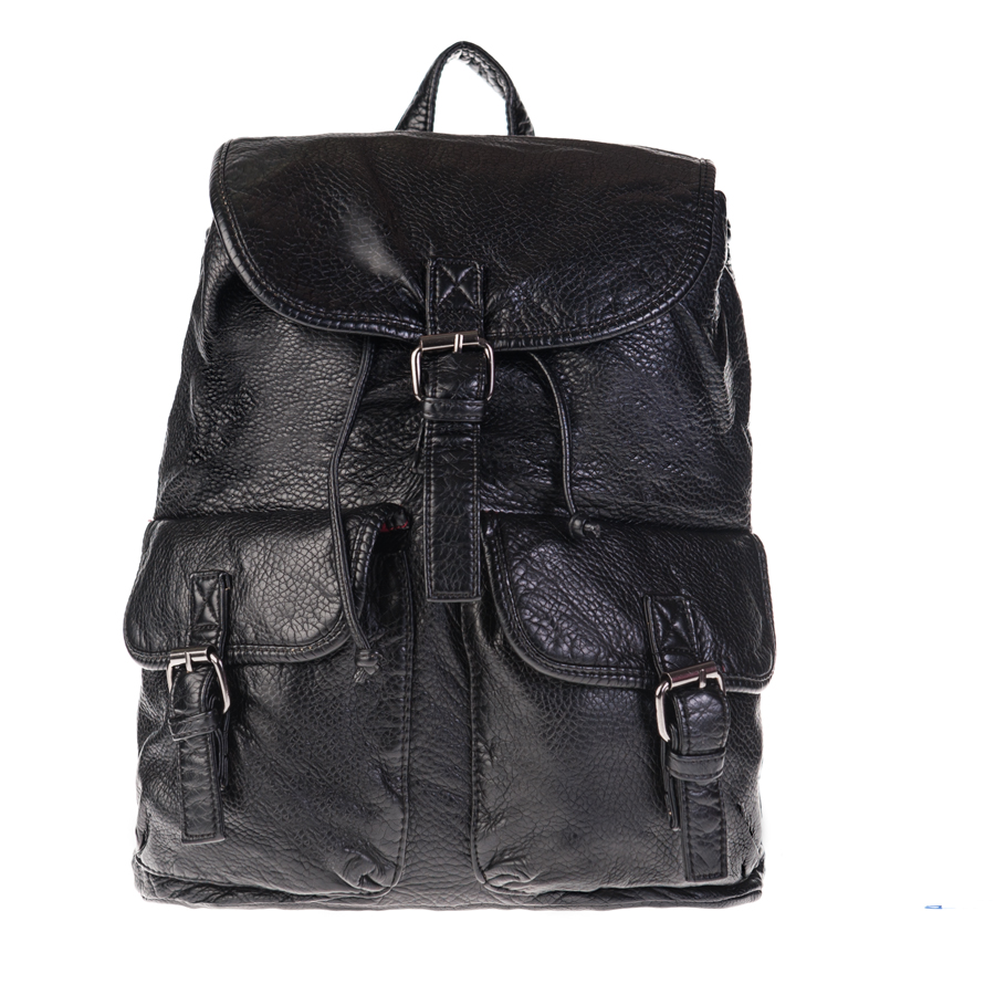 Рюкзак женский OrsOro, черный. D-148/46