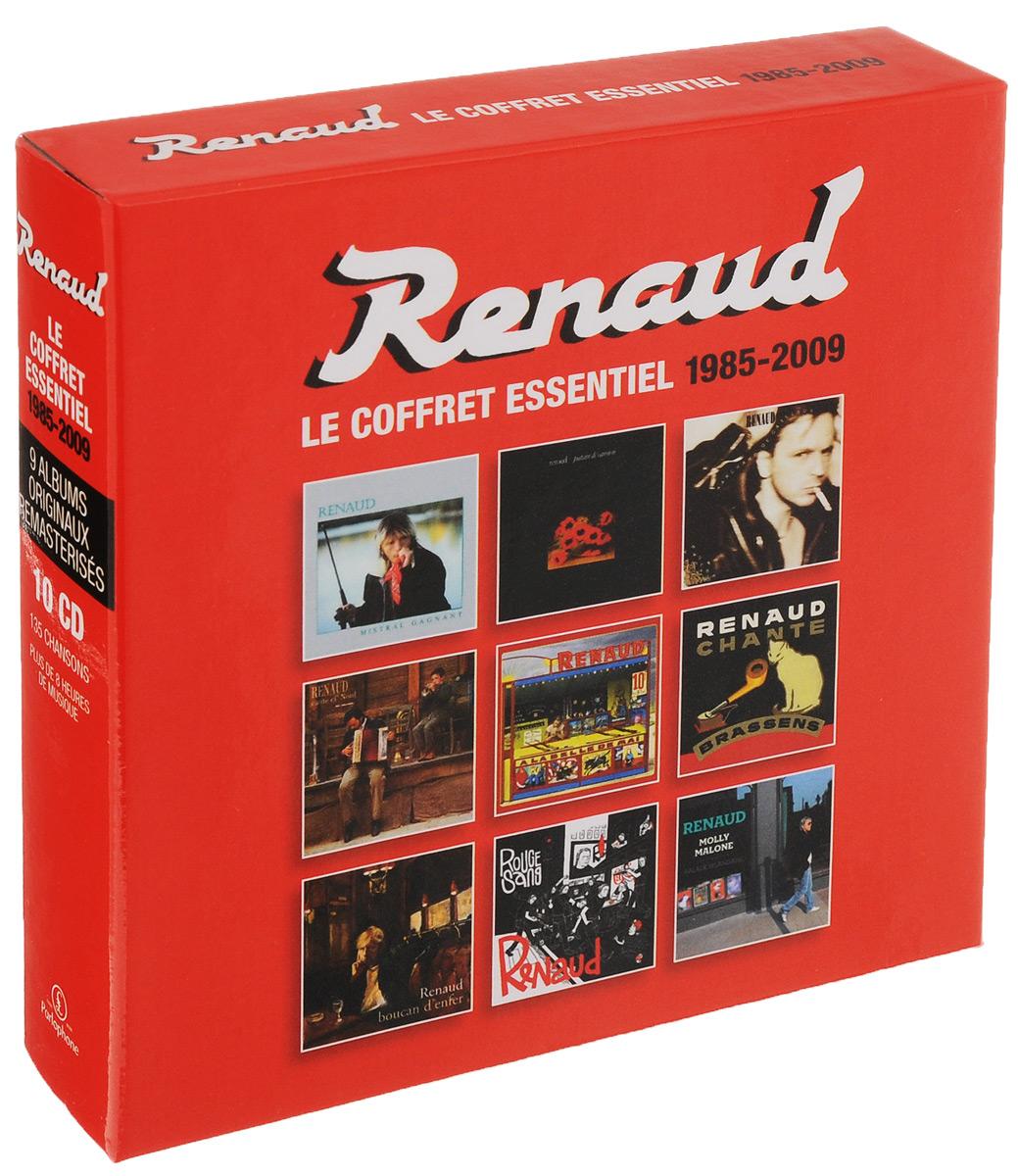 Renaud,Pierre Manuel Sechan Renaud Renaud. Coffret Essentiel. 1985-2009 (10 CD) east–west healing