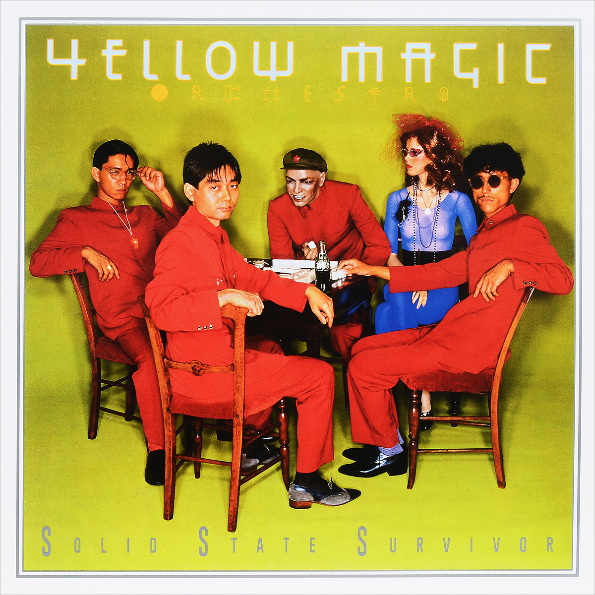 Yellow Magic Orchestra. Solid State Survivor (LP)