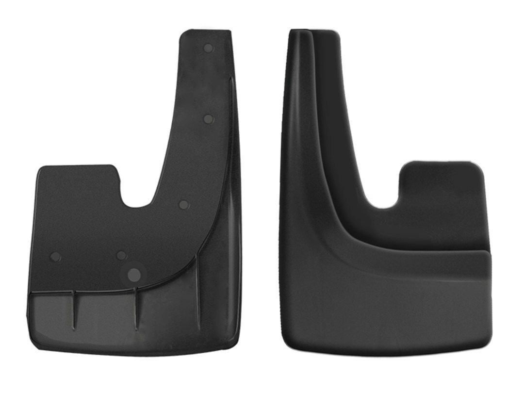 Брызговик универсальный Триада Classic, цвет: черный, 2 шт01103Универсальный брызговик для легковых автомобилей предохраняет кузов от грязи, защищает лакокрасочное покрытие в местах сочленения днища и крыльев, улучшает внешний вид машины. Рекомендуется к установке для замены старых брызговиков и для установки, если брызговиков не было при покупке. Сохраняет прочность и эластичность в диапазоне температур ±50С: не дубеет на морозе, сохраняет форму на жаре.Крепление: саморезы (6 шт). Подходит на переднюю и заднюю часть 95% автомобилей.Комплектация: правый, левый брызговики.