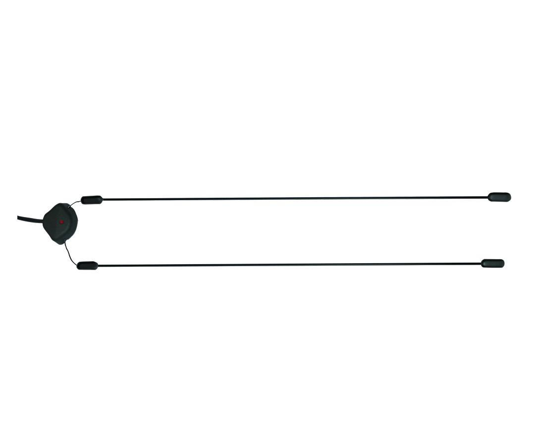 Антенна активная Триада-190 DIAMOND10971Автомобильная активная внутрисалонная антенна Триада-190 DIAMOND не имеет аналогов по приемным свойствам (перегрузка и дальность действия), обладает выдающимися приемными свойствами. Рекомендуется к использованию с автомобильными магнитолами, особенно с многофункциональными двухдиновыми магнитолами китайского производства (GPS, DVD, сенсорный экран), плохо принимающими радио. С хорошими магнитолами качество приема очень хорошее (и вблизи, и вдалеке от радиостанций). Корпус антенны устанавливается в угол лобового стекла на двусторонний скотч. Полотна жесткие стеклотекстолитовые, приклеиваются вдоль кромки лобового стекла. Индикатором правильного подключения является светодиод. Антенна всеволновая, обладает повышенным усилением в диапазонах УКВ и FM. Характеристики: Активная внутрисалонная автомобильная антенна. Всеволновая. Повышенное усиление в диапазонах УКВ и FM. Светодиодная индикация работы. Усилитель с большим динамическим диапазоном. Встроенный фильтр помех питания и зажигания автомобиля. Высокочастотный коаксиальный кабель. Антенна устанавливается без сверления корпуса и подключения к массе автомобиля. Технические характеристики: Дальность приема: до 150 км. Напряжение питания: 9-15 В. Потребляемый ток: 35 мА. Коэффициент усиления: 23 дБ. Прием в диапазонах: УКВ, FM, AM. Выходное сопротивление: 75 Ом. Длина кабеля: 2,5-3 м.