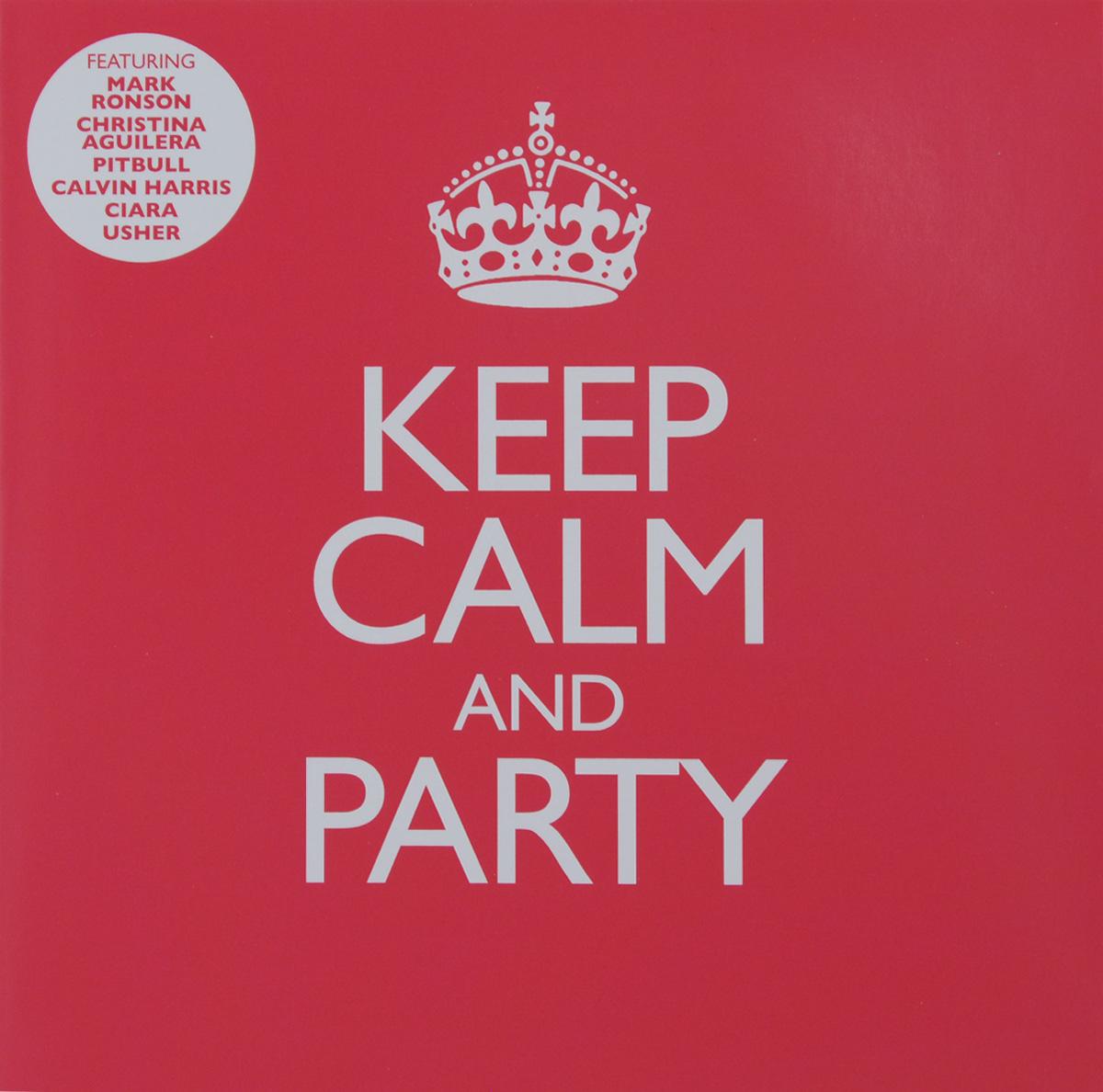 Марк Ронсон,Бруно Марс,Pitbull,Ke$ha,Крис Браун,Meghan Trainor,Дженнифер Лопес,Уитни Хьюстон,Шон Кингстон,Usher,Майли Сайрус,Kid Ink,Little Mix ,TLC,Джастин Тимберлейк,Backstreet Boys,Олли Марс,Шакира,Тони Брэкстон,Алексис Джордан,Ciara Keep Calm And Party (2 CD) энрике иглесиас шон гаретт сара коннор уитни хьюстон келис nadiya ciara enrique iglesias greatest hits