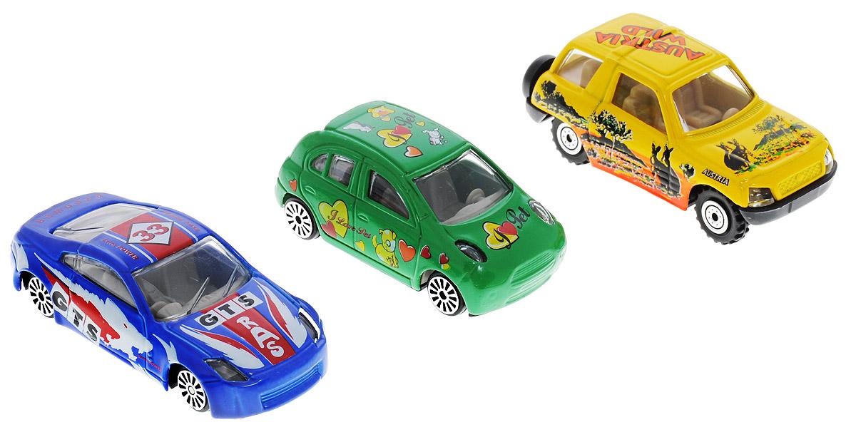 Pro-Engine Набор машинок Гонки цвет зеленый синий желтый 3 шт engine heater