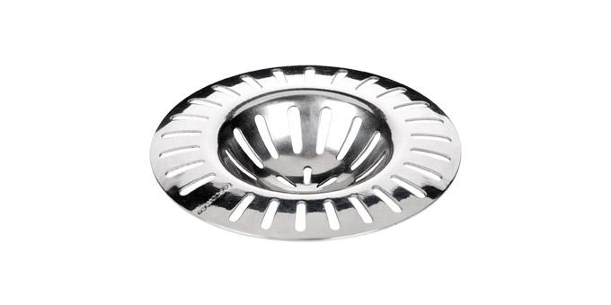 Фильтр для раковины Tescoma Presto, диаметр 7см115212Фильтр Tescoma Presto, выполненный из нержавеющей стали, используется для улавливания нечистот в раковинах и ванных, предотвращает забивание канализационных труб остатками еды. Фильтр имеет специальное углубление для раковины. Изделие поможет предотвратить засорение вашей раковины.Можно мыть в посудомоечной машине. Диаметр фильтра: 7 см.