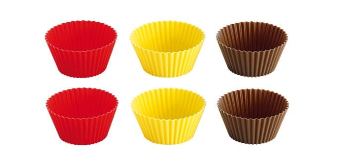 Набор форм для выпечки Tescoma Delicia, диаметр 9см, 6шт набор формочек для выпечки tescoma 6 шт 631532