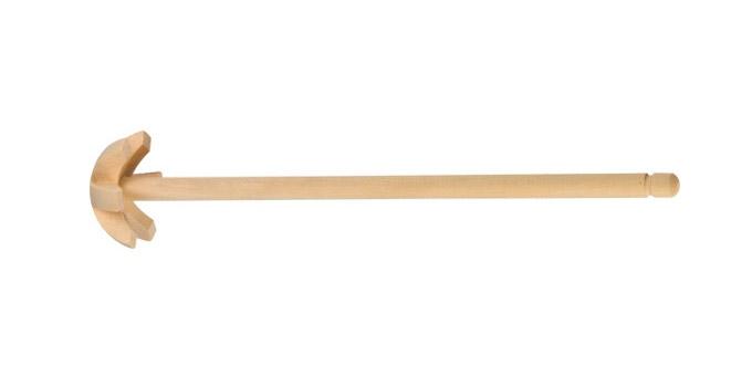 Венчик Tescoma Woody, длина 28 см637380Венчик Tescoma Woody, выполненный из кленовой древесины, отлично подходит для интенсивного взбивания сливок, яиц, теста, кремов и соусов. Подходит для посуды с антипригарным покрытием. Венчик удобно ложиться в руке и делает процесс взбивания легким.Практичный и удобный венчик Tescoma Woody займет достойное место среди аксессуаров на вашей кухне.Длина венчика: 28 см.