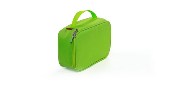 Термосумка Tescoma  Сoolbag , с гелевым охладителем, с контейнером, цвет: зеленый, 24 х 18 х 9,5 см - Товары для барбекю и пикника