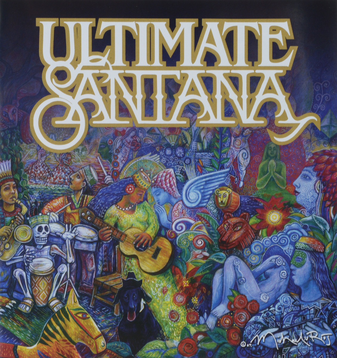 Карлос Сантана Santana. Ultimate Santana cd диск santana ultimate santana 1cd cyr