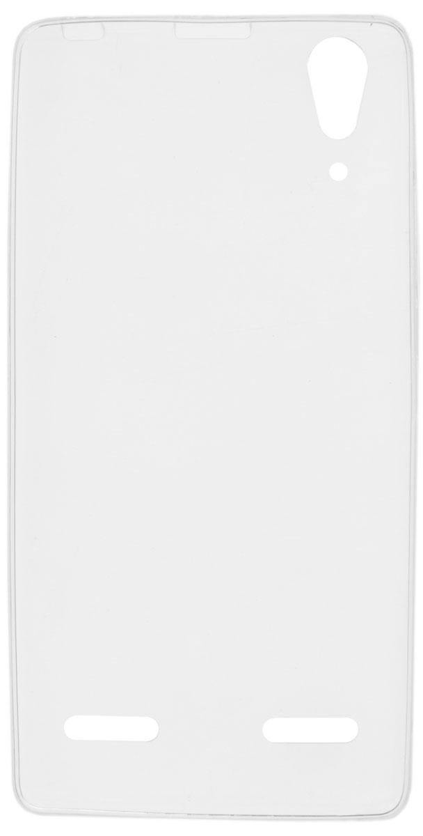 Red Line iBox Crystal чехол для Lenovo A6000/Lenovo A6010, Clear смартфон lenovo a6010 plus 16gb black