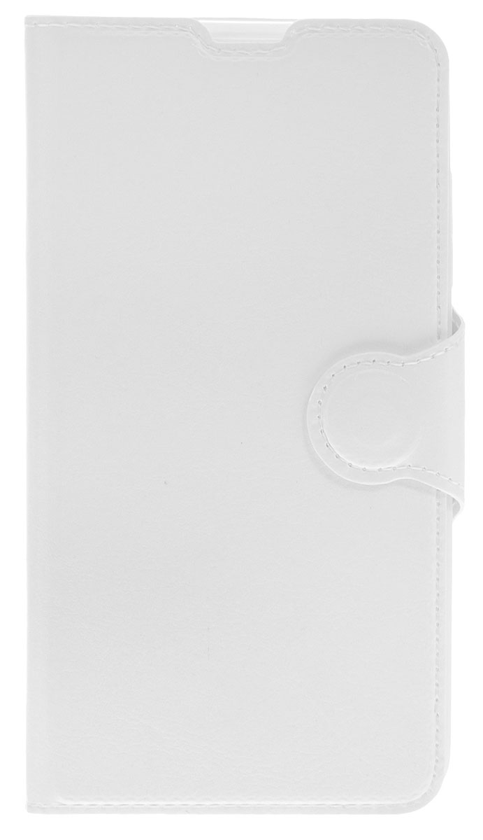 Red Line Book Type чехол-книжка для Microsoft Lumia 650, White аксессуар чехол microsoft lumia 650 red line book type sleek green