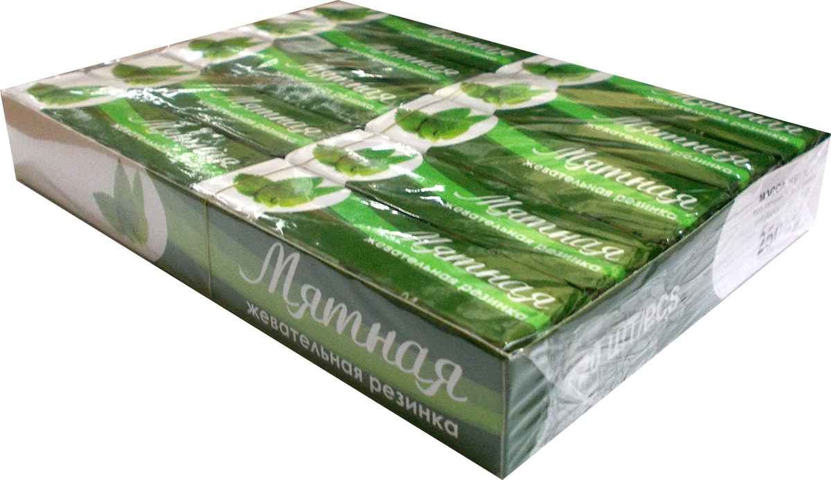 Plastinki жевательная резинка Мятная, 20 пачек по 5 шт plastinki жевательная резинка гранатовая 20 шт по 12 5 г