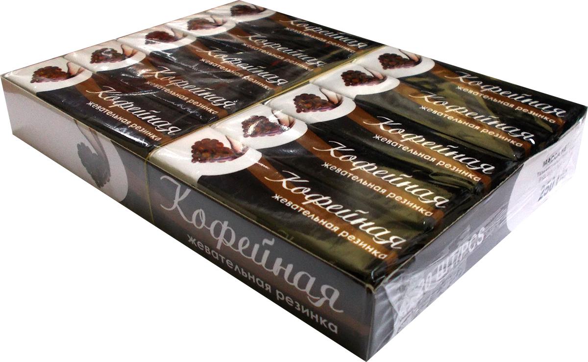 Plastinki жевательная резинка Кофейная, 20 пачек по 5 шт56665Десертные жевательные пластинки Plastinki в стиле легкого ретро с традиционными вкусами и натуральным сахаром.Блок содержит 20 упаковок с жевательной резинкой одного вкуса. В каждой упаковке 5 пластинок. Нежная кофейная ностальгия!Уважаемые клиенты! Обращаем ваше внимание, что полный перечень состава продукта представлен на дополнительном изображении.
