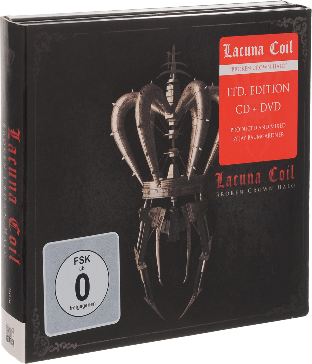 Lacuna Coil Lacuna Coil. Broken Crown Halo (CD + DVD) svart crown svart crown abreaction lp cd