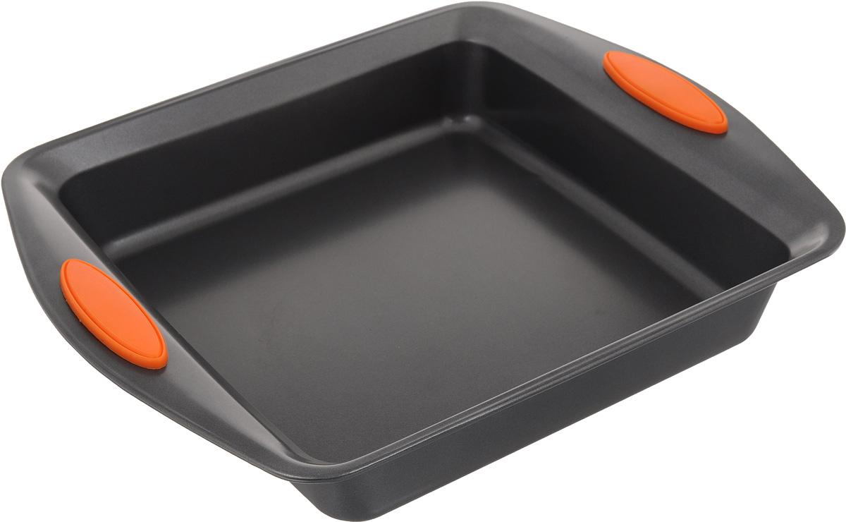 Форма для выпечки Mayer & Boch Unico, квадратная, 22,5 х 22,5 см4095-1Квадратная форма Mayer & Boch Unico изготовлена из углеродистой стали. Сталь не содержит вредных примесей ПФОК, что способствует здоровому и экологичному приготовлению пищи. Форма идеально подходит для приготовления разнообразной выпечки. Выдерживает температуру до +230°C. Изделие имеет ручки с силиконовыми вставками.Форма для запекания подходит для приготовления блюд в духовке. Не рекомендуется мыть в посудомоечной машине.Внешний размер: 31 х 25,8 см. Внутренний размер: 22,5 х 22,5 см. Высота стенки: 5,5 см.