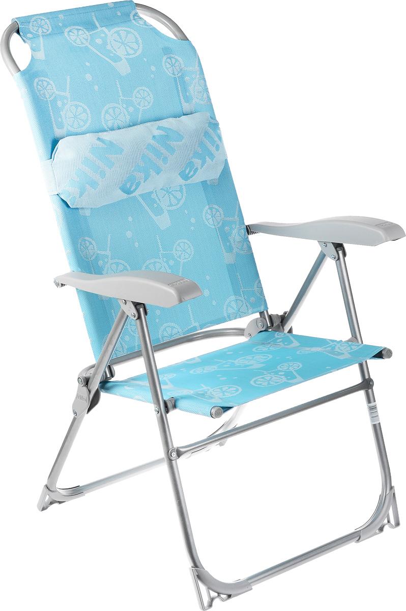 Шезлонг складной Wildman, 103 х 57,5 х 83 см81-462Складной шезлонг Wildman предназначен для использования в качестве индивидуальной трансформируемой мебели для отдыха, сидя и полулежа, на открытом воздухе и в помещении. Имеет 8 положений спинки. Шезлонг выполнен из сетчатой ткани (ПВХ). Такой материал не боится воды, легко чистится моющими средствами и устойчив к загрязнениям. Каркас изделия металлический. Размер изделия в положении шезлонга: 156 х 58 х 79 смРазмер изделия в положении кресла: 62 х 57,5 х 110,5 см.