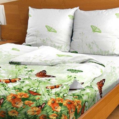 Комплект белья Letto, семейный, наволочки 70х70, цвет: зеленый. B95-7B95-7Комплект постельного белья Letto с фирменным оригинальным дизайном выполнен из бязи. Благодаря такому комплекту постельного белья вы сможете создать атмосферу уюта и комфорта в вашей спальне.