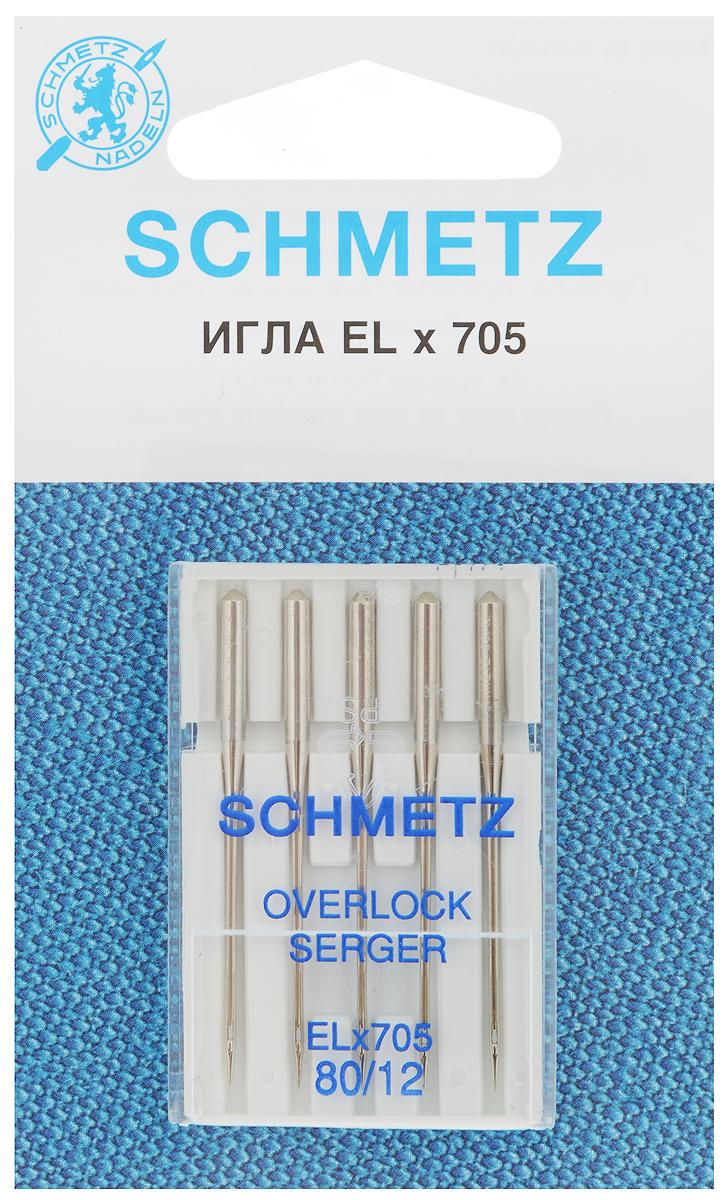 Набор игл для оверлок-машин Schmetz, №80, 5 шт22:40.2.VCSНабор Schmetz состоит из пяти игл для специальных бытовых оверлок-машин. Комплектация: 5 шт. Размер игл: №80.Стандарт: ELx705.