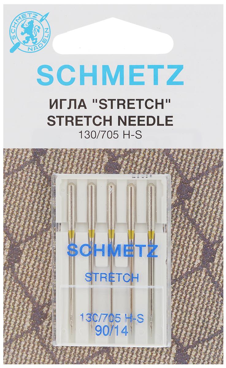 Набор игл Schmetz Stretch, №90, 5 шт22:80.FB2.VDSНабор Schmetz Stretch состоит из пяти игл для большинства бытовых швейных машин. Иглы со средним шарообразным острием, специальной конструкцией ушковой части и выемкой на её стержне. Предназначены для эластичных и высокоэластичных материалов, таких как шёлковый джерси и лайкра. Комплектация: 5 шт. Размер игл: №90.Стандарт: 130/705 H-S.
