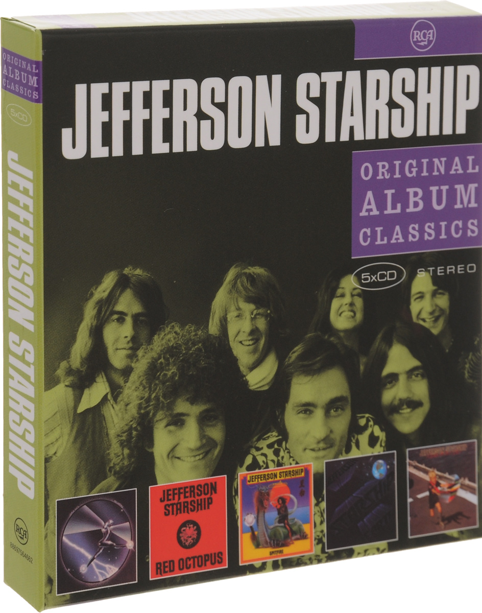 Jefferson Starship Jefferson Starship. Original Album Classics (5 CD) jefferson starship the definitive concert