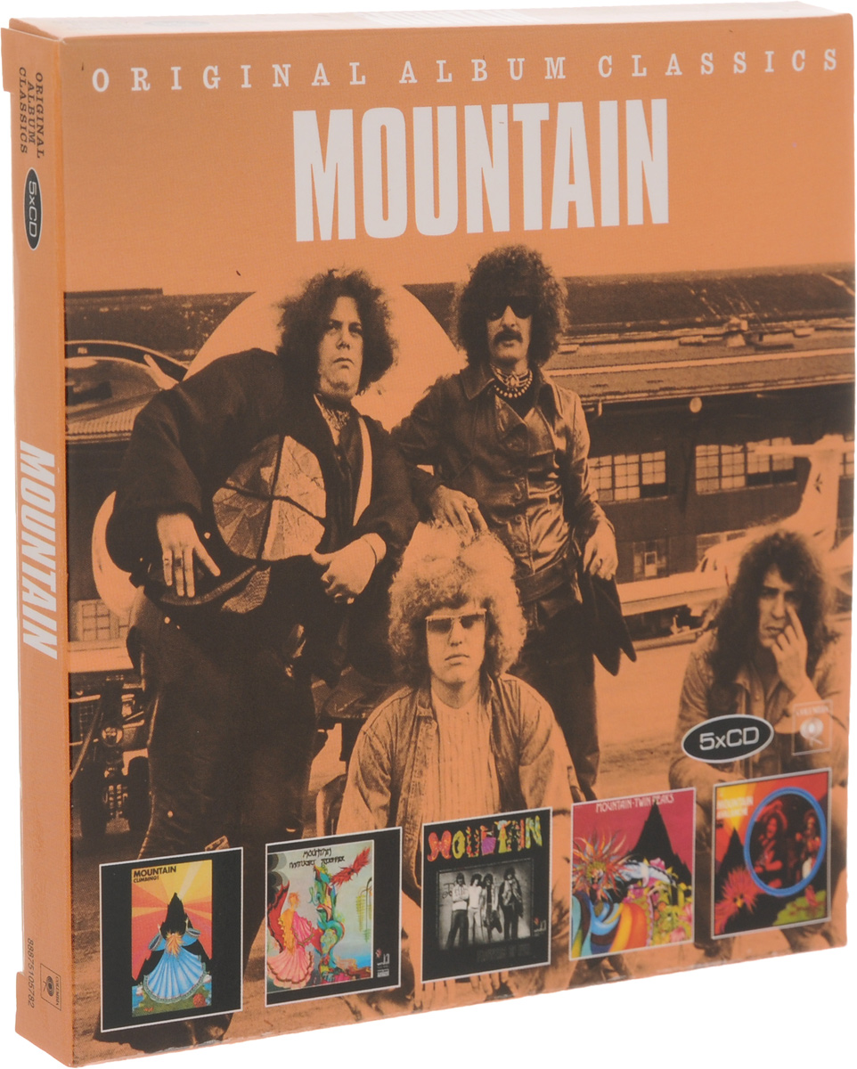 Mountain Mountain. Original Album Classics (5 CD) topicrem ультра увлажняющий крем spf50 для лица и тела 75мл essentials