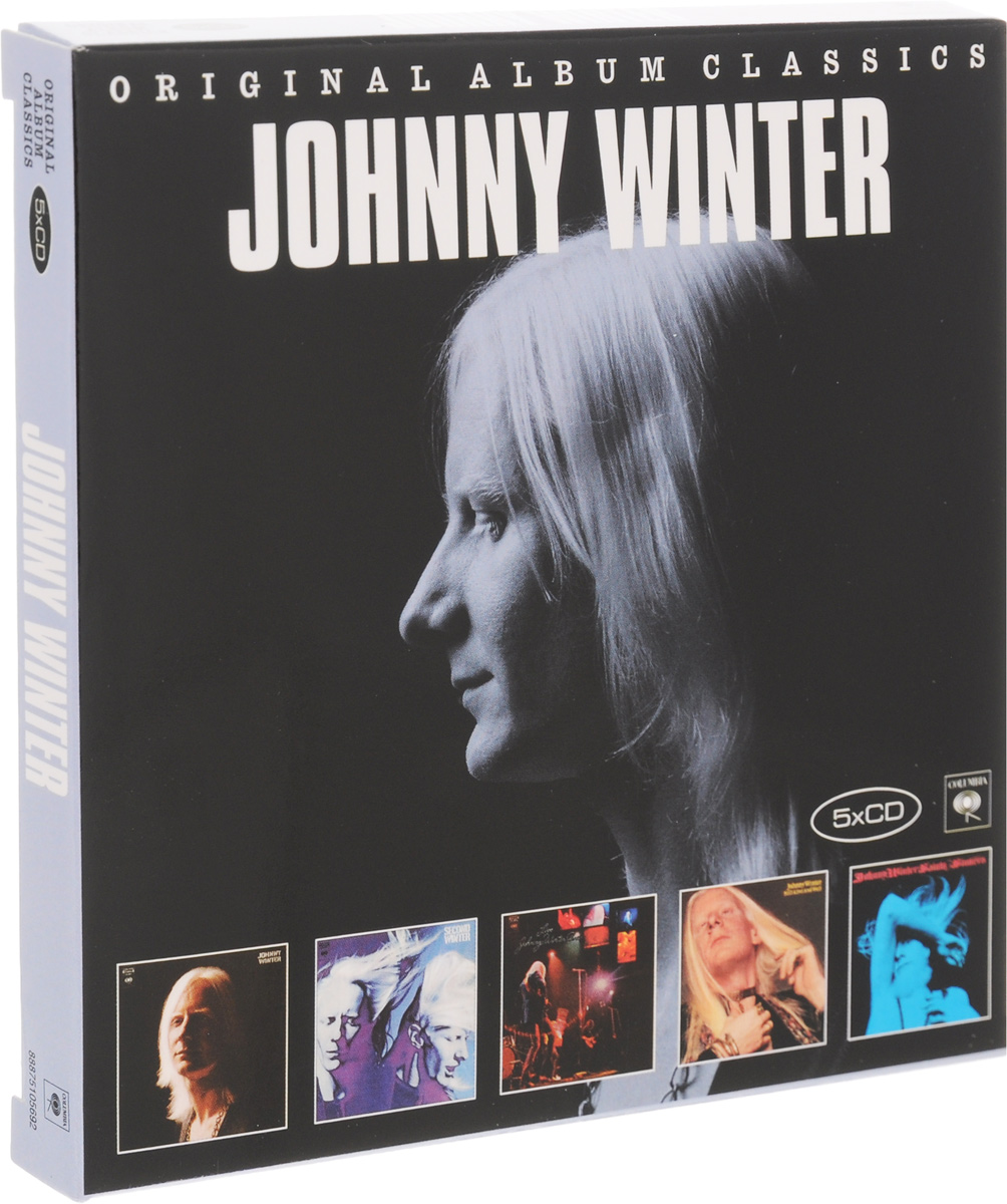 Джонни Уинтер Johnny Winter. Original Album Classics (5 CD) cd сборник christmas classics