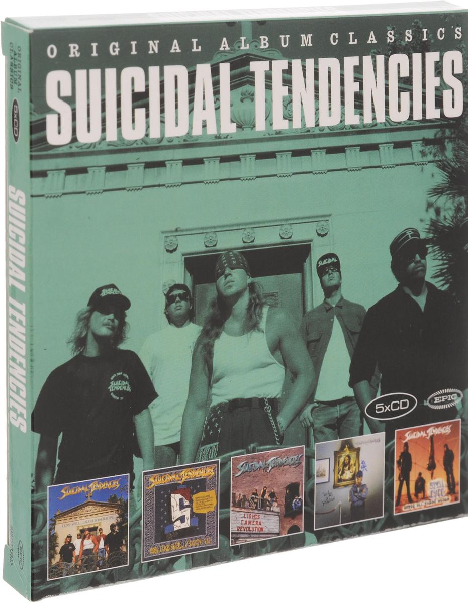 Suicidal Tendencies Suicidal Tendencies. Original Album Classics (5 CD) self esteem deficit suicidal tendencies and social support