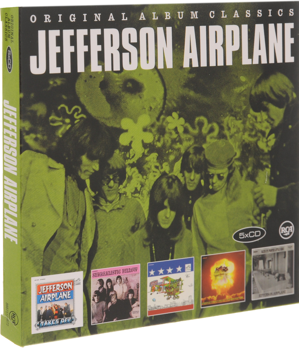 Jefferson Airplane Jefferson Airplane. Original Album Classics (5 CD) hrb lipo 3s battery 11 1v 3600mah 35c max 70c xt60 drone akku for helicopter rc bateria airplane car boat airplane quadcopter