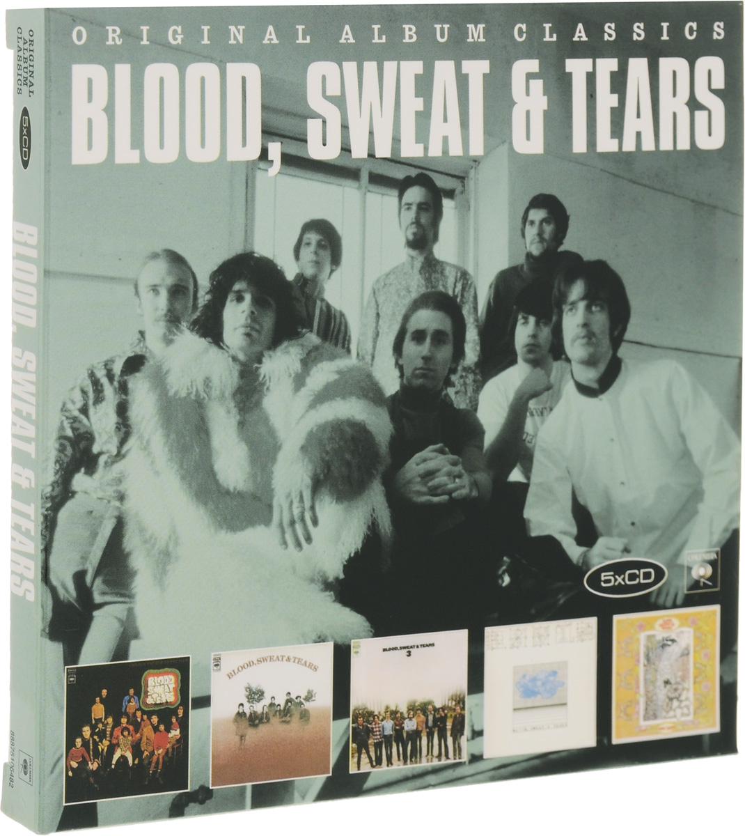 Blood, Sweat & Tears Blood, Sweat & Tears. Original Album Classics (5 СD) blood sweat and tears live in halifax