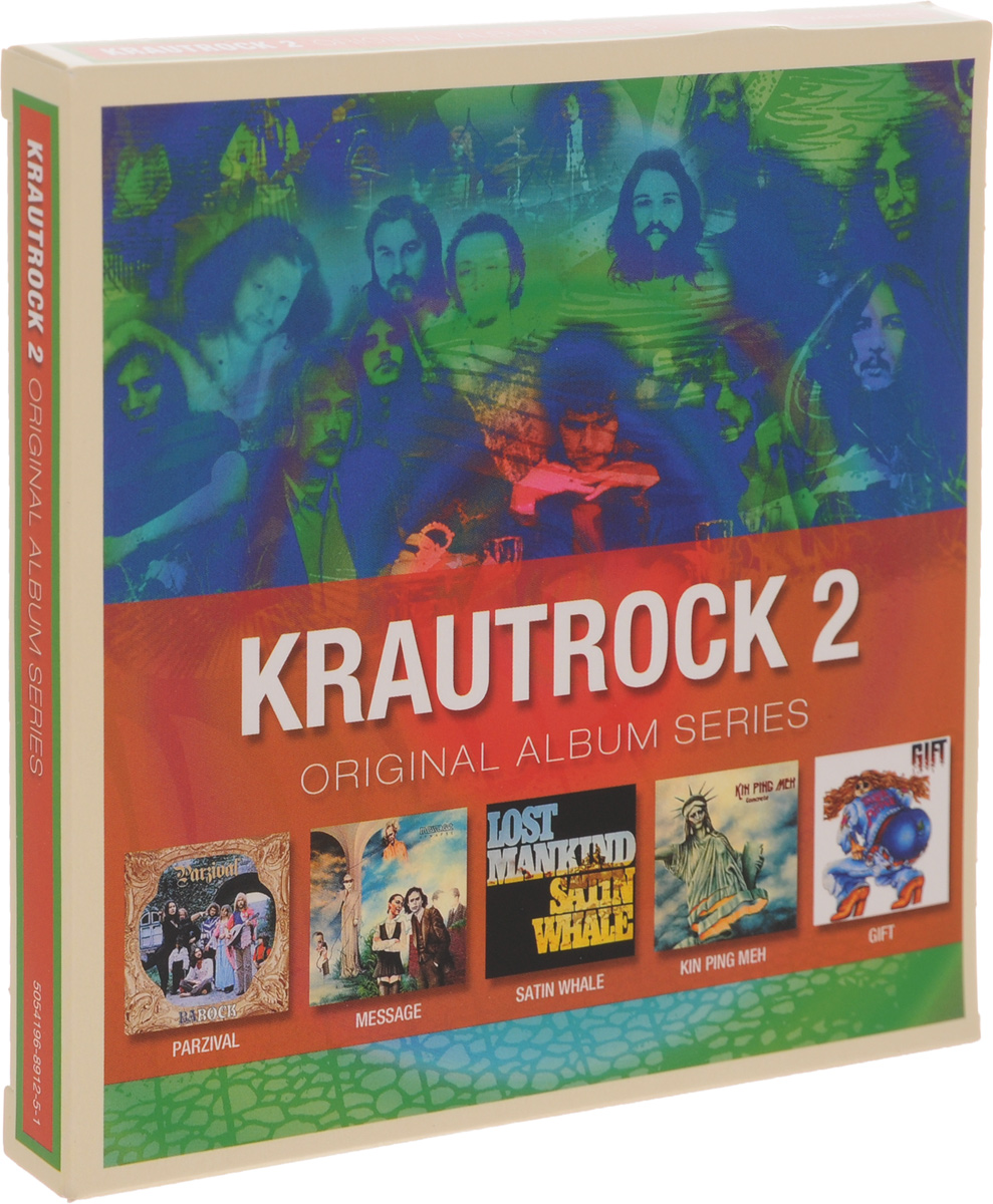 Parzival,Message,Satin Whale,Kin Ping Men,The Gift Krautrock 2. Original Album Series (5 CD) kin ping meh kin ping meh kin ping meh lp