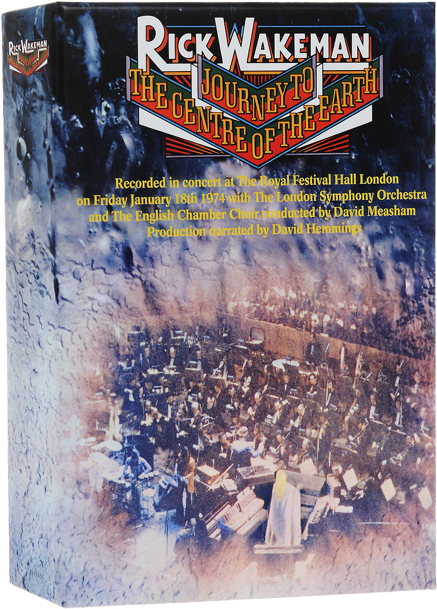 Рик Уэйкман,The London Symphony Orchestra,English Chamber Choir,Давид Мишам Rick Wakeman. Journey To The Centre Of The Earth (3 CD + DVD) the watercolourist