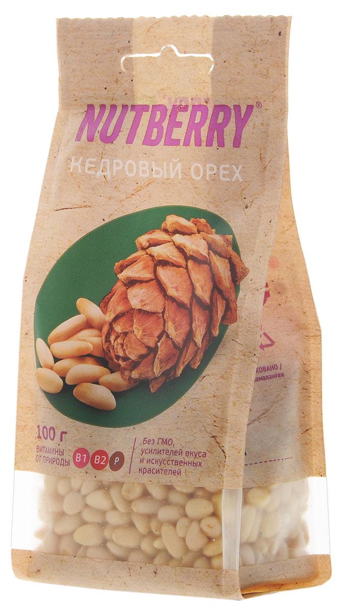 Nutberryкедровыйорех,100г4620000676041Кедровый орех не только вкусный, но и исключительно полезный продукт для здоровья человека. Он не содержит холестерина, отличается повышенным содержанием белка - до 44% (в 12 раз больше, чем в курином мясе). Врачи рекомендуют употреблять в пищу кедровые орешки вегетарианцам, чтобы компенсировать белковый голод. В этом орехи содержатся практически все незаменимые аминокислоты, также кедровый орех отличается высоким содержанием антиоксидантов, предотвращающих старение организма.