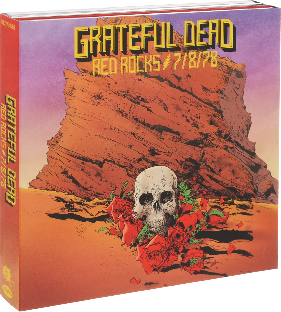 The Grateful Dead Grateful Dead. Red Rocks (3 СD) grateful dead grateful dead shrine exposition hall los angeles ca 11 10 1967 3 lp