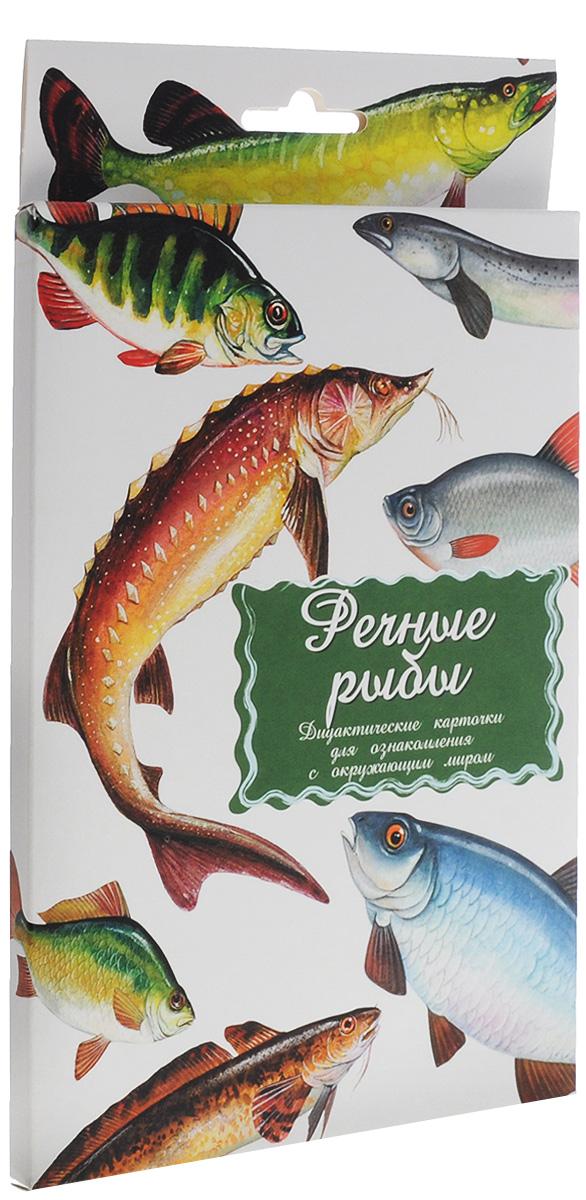 Маленький гений-Пресс Обучающие карточки Речные рыбы наборы карточек маленький гений удивительные приключения в лесу