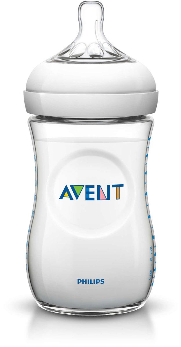 Philips Avent Бутылочка для кормления Natural от 1 месяца 260 мл SCF693/17 -  Бутылочки