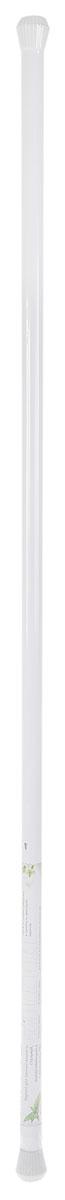 Карниз для ванной комнаты Duschy, выкручивающийся, цвет: белый, 130-240 см650-10Карниз для ванной комнаты Duschy, изготовленный из алюминия с эпоксидным антикоррозийным покрытием, это не только аксессуар для штор, но и элемент декора. Карниз телескопический, он регулируется по длине и раздвигается до максимальной длины 240 см. Пластиковые наконечники защитят стены от повреждений. Оригинальный и изысканный карниз стильно дополнит интерьер вашей ванной комнаты.Надежно крепится между стенами в распор без использования крепежных элементов, не скользит и не требует специальных инструментов для установки. Диаметр карниза: 25 мм.