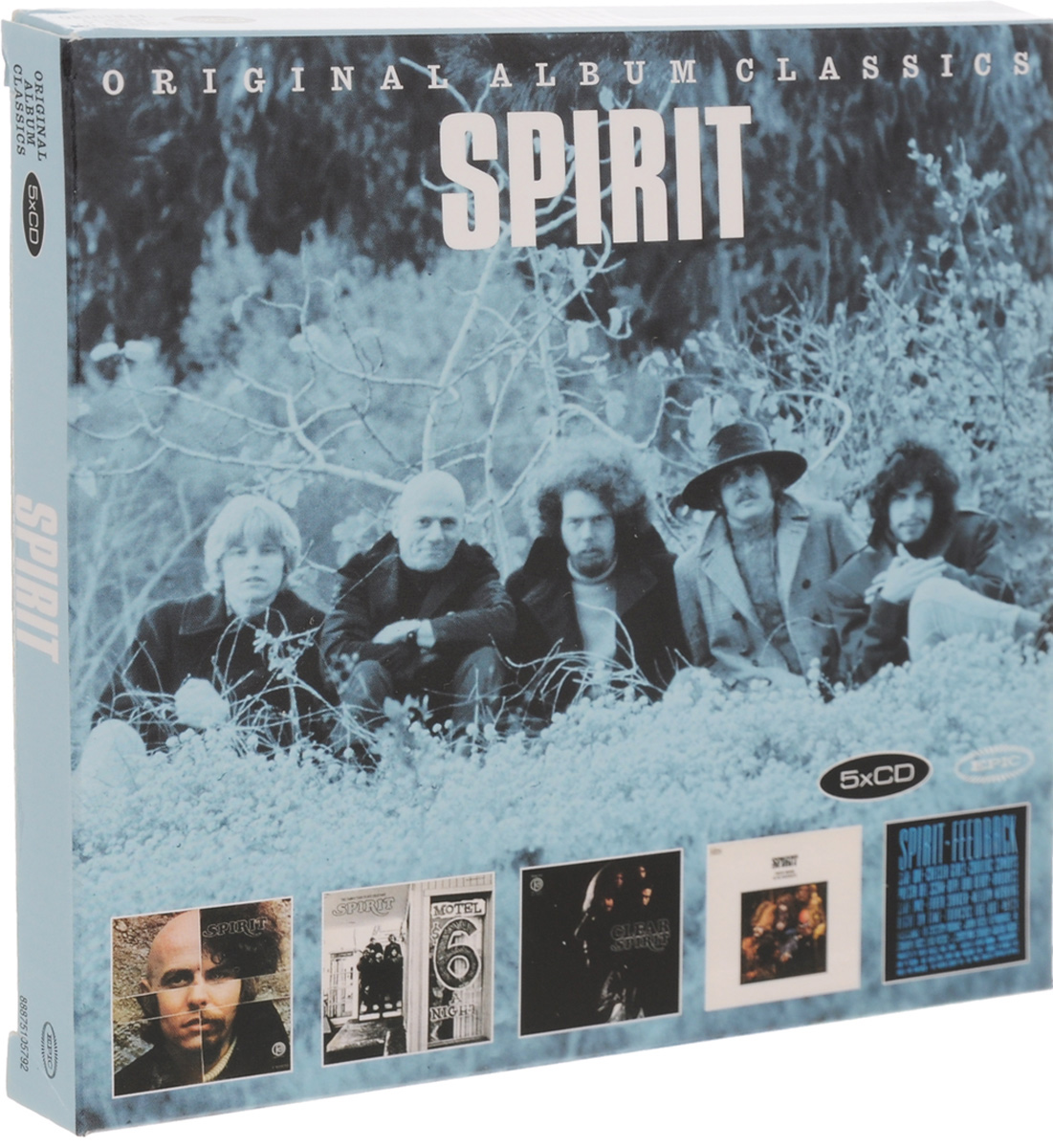 Spirit Spirit. Original Album Classics (5 CD) quiet riot quiet riot original album classics 5 cd
