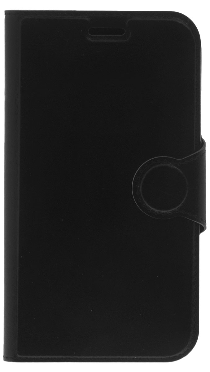 Red Line Book Type чехол-книжка для Samsung Galaxy J1 (2016), Black чехол red line book type для samsung galaxy j5 2016 black