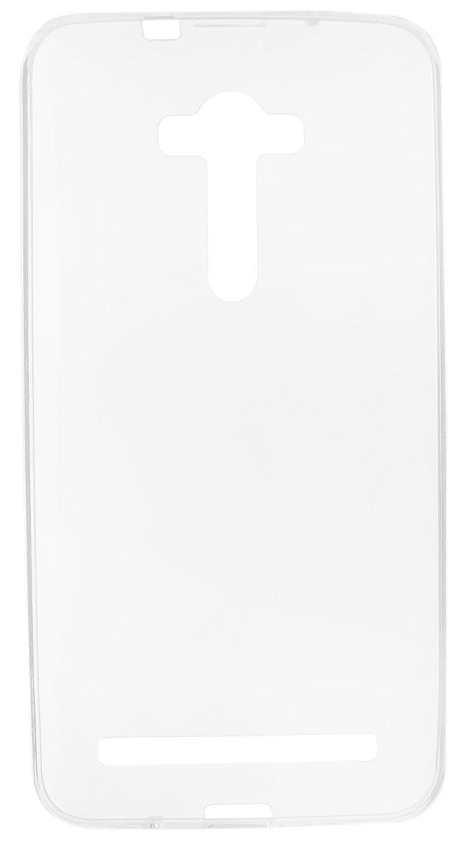 Red Line iBox Crystal чехол для Asus Zenfone 2 Lazer ZE550KL, ClearУТ000008169Практичный и тонкий силиконовый чехол Red Line iBox Crystal для Asus Zenfone 2 Lazer ZE550KL защищает телефон от царапин, ударов и других повреждений. Чехол изготовлен из высококачественного материала, плотно облегает смартфон и имеет все необходимые технологические отверстия, соответствующие модели телефона.Силиконовый чехол iBox Crystal долгое время сохраняет свою первоначальную форму и не растягивается на смартфоне.