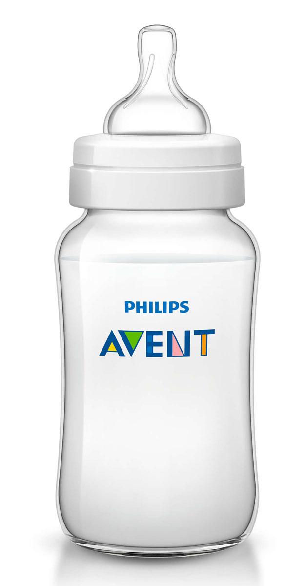 Philips Avent Бутылочка 330 мл, 1 шт. Соска со средним потоком для детей от 3 месяцев SCF566/17 -  Бутылочки