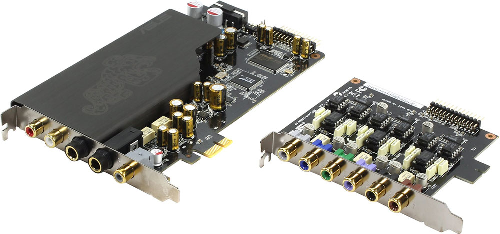 ASUS Essence STX II 7.1 звуковая карта asus xonar u5 звуковая карта