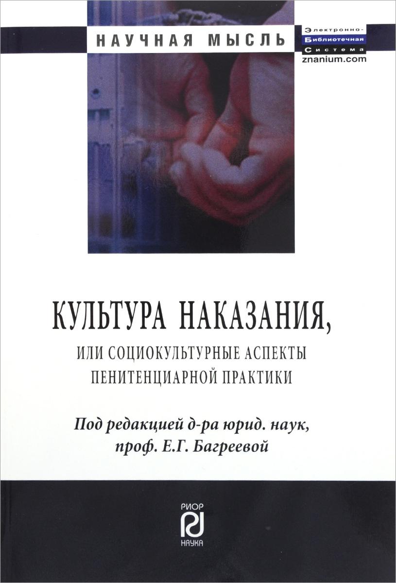 Культура наказания, или Социокультурные аспекты пенитенциарной практики
