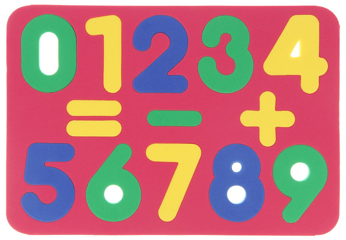Бомик Пазл для малышей Цифры цвет основы красный бомик пазл для малышей собака