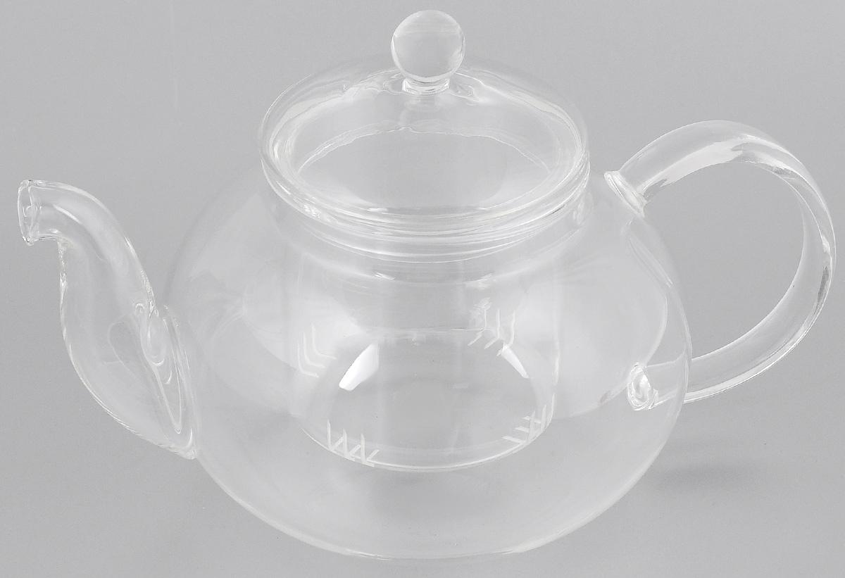 Чайник заварочный Mayer & Boch, с фильтром, 1 л. 2494024940Заварочный чайник Mayer & Boch изготовлен из термостойкого боросиликатного стекла - прочного износостойкого материала. Изделие оснащено фильтром и крышкой, выполненной из стекла. Простой и удобный чайник поможет вам приготовить крепкий, ароматный чай. Дизайн изделия впишется в интерьер любой кухни. Диаметр (по верхнему краю): 8,5 см.Высота (с учетом крышки): 14 см.