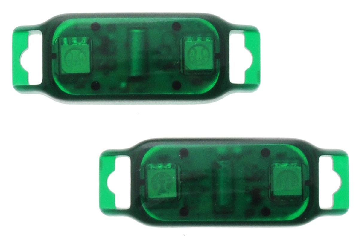 Partymania Светодиоды с датчиком движения Shine & Go! цвет зеленый 2 шт partymania украшения для бокалов 12 шт